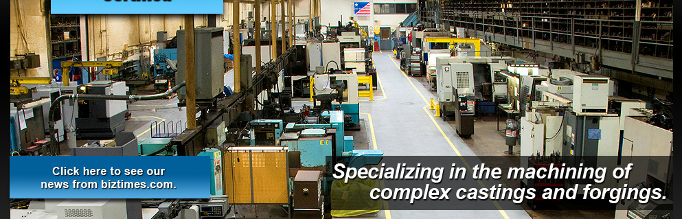 Matzel Manufacturing Company - Specializing in the Machining of Complex Castings and Forgings